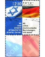 Ref. 328817 * MNH * - ISRAEL. 2005. 40th ANNIVERSARY OF DIPLOMATIC RELATIONSHIPS WITH FEDERAL GERMANY . 40 ANIVERSARIO D - Israel