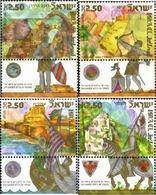 Ref. 328837 * MNH * - ISRAEL. 2006. CRUSADER SITES IN ISRAEL . LUGARES DE LAS CRUZADAS DE ISRAEL - Nuevos (sin Tab)