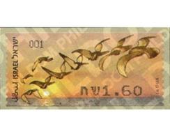 Ref. 242672 * MNH * - ISRAEL. 2010. FLOCK OF BIRDS . BANDADA DE PAJAROS - Timbres