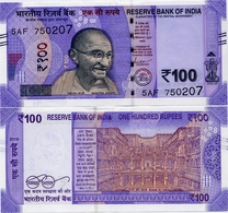 INDIA       100 Rupees       P-112       2019       UNC  [ Sign. Das - No Letter ] - India