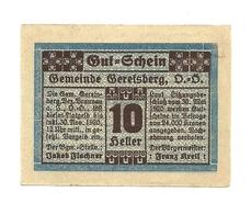 1920 - Austria - Geretsberg Notgeld N67 - Austria