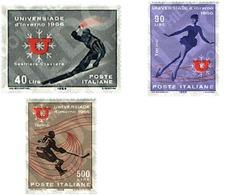 Ref. 66987 * MNH * - ITALY. 1966. WINTER UNIVERSITY GAMES . JUEGOS UNIVERSITARIOS DE INVIERNO - Skiing