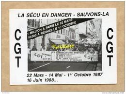 Rennes - Syndicat C G T - Pétition 1988 - Syndicats