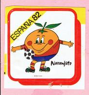 Sticker - ESPANA 82 - Naranjito - Voetbal - Autocollants