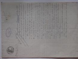 Testament Olographe De Mme Paul Legras De Grandcourt Fait Chez Maître Espiau-lamaestre à La Roche-sur-Yon (86). - Non Classificati