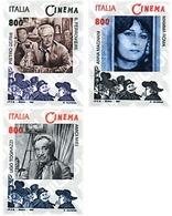 Ref. 55316 * MNH * - ITALY. 1997. ITALIAN CINEMA . CINE ITALIANO - Cinema