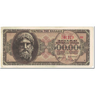 Billet, Grèce, 500,000 Drachmai, 1944, 1944-03-20, KM:126b, TTB - Grèce