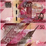KENYA       50 Shilingi       P-New       2019       UNC - Kenia