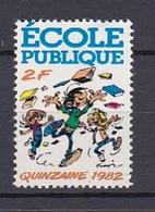 Timbre Errinophilie  ECOLE PUBLIQUE 1982 - Erinnophilie