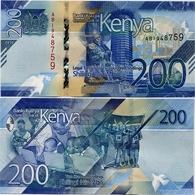 KENYA       200 Shilingi       P-New       2019       UNC - Kenia