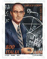Ref. 81282 * MNH * - ITALY. 2001. CENTENARY OF THE BIRTH OF ENRICO FERMI . CENTENARIO DEL NACIMIENTO DE ENRICO FERMI - Unclassified