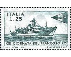 Ref. 130908 * MNH * - ITALY. 1971. STAMP DAY . DIA DEL SELLO - Bateaux
