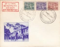 COVER VIET NAM.  10 1 1956.  TRIEN-LAM. BE NGU CHU NIEN - Vietnam
