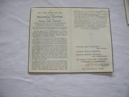 Maria - Felicita Tuytten (Zarren 1878-Torhout 1953);Couchez - Images Religieuses