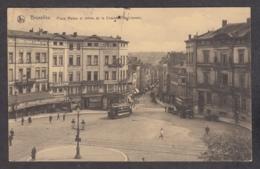 104262/ BRUXELLES, Place Madou Et Entrée De La Chaussée De Louvain - Places, Squares