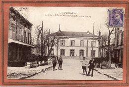 CPA - COURPIERE (63) - Aspect Des Restaurants Et De La Gare Dans Les Années 20 / 30 - Courpiere