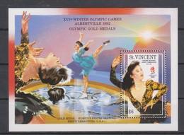 Olympics 1992 - Figure Skate - ST. VINCENT - S/S MNH - Hiver 1992: Albertville