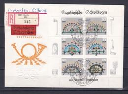 DDR - 1986  - Michel Nr. 3057/3063 - Kleinbogen - Einschreiben - Eilbrief - Sonderstempel - DDR