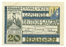 1920 - Austria - Wagram Notgeld N105 - Austria
