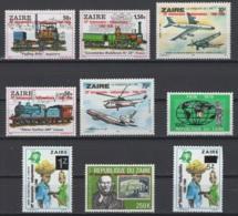 1980. République Du Zaïre. COB N° 1077/85 **, MNH.  Cote COB 2018 : 9 € - Zaire