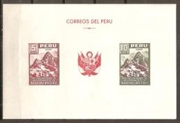 PERÚ 1961 - Yvert #H5 - MNH ** - Perú
