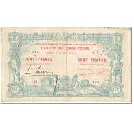 Billet, Nouvelle-Calédonie, 100 Francs, 1914, 1914-03-11, KM:17, TB - Nouméa (New Caledonia 1873-1985)