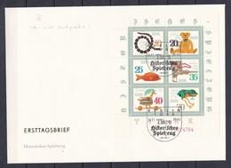 DDR - 1981 - Michel Nr. 2661/66 - Teilweise Gez. OR - Kleinbogen - ETB - Sonderstempel - DDR