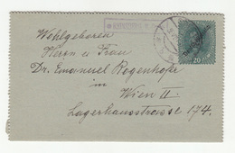 Austria Postal Stationery Letter Card Karten-Brief Travelled 1919 Reinsberg To Wien B190720 - Stamped Stationery