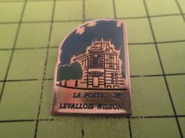 1518c Pin's Pins / Beau Et Rare : THEME : POSTES / LA POSTE LEVALLOIS WILSON - Postes