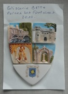 Feve Feves  Serie Perso T Patissierie Battu - Pernes Les Fontaines - Regio's