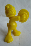 FIGURINE PUBLICITAIRE FIGURINE Prime NEVEU DE DONALD En Plastique Jaune Type Bully Pérou MICKEY WALT DISNEY - Disney