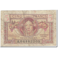 France, 5 Francs, 1947, Undated (1947), TB, Fayette:VF29.1, KM:M6a - Tesoro