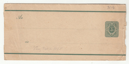 Reichpost Postal Stationery Newspaper Wraper B190720 - Deutschland