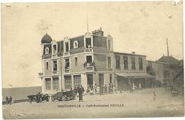 ( COUTAINVILLE )( 50 MANCHE ) ( COMMERCES ) CAFE RESTAURANT NICOLLE - Autres Communes