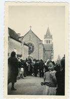 La Puye 86  église Paroissiale Le 12 Juin 1948 297CP02 - Lieux