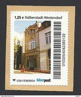 Privatpost, Biberpost, Wertstufe: 1,25 EUR, Halberstadt-Westendorf, Gebraucht Auf Papier - [7] Federal Republic