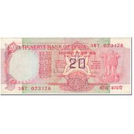 Billet, Inde, 20 Rupees, 1985, Undated (1985), KM:82g, TB - Inde