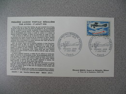 FDC France 1968   N° 1565 - 1960-1969