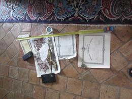 1 CERTIFICAT DE BONNE CONDUITE CUIRASSIERS - 2 MEDAILLE DU TRAVAIL- 3 DIPLÔME BACHELIER -4 VERSEMENT OR 1917 - Old Paper