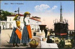 Croatia / Hrvatska: Zara (Zadar), Riva 4. Novembre 1933 - Kroatien