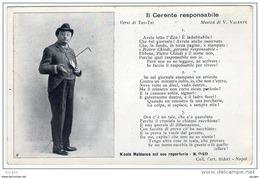 TEATRO Varietà NICOLA MALDACEA Attore  Di Napoli Pro Mutilati Ischia - Teatro