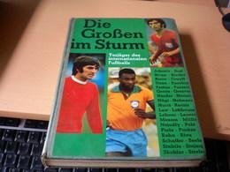 Die Grosen Im Sturm Torjager Des Internationalen Fusballs, 224 Pages  Best, Binder Cruyff, Eusebio, Kocsis, Muller, Pele - Books