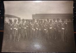 Ufficiali Decorati Regia Cavalleria Aeronautica Alpini Uniformes Uniforms Uniformi Divise - War, Military