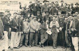 54   LONGWY MOULAINE  DELEGUES ET OUVRIERS DU SYNDICAT JAUNE - Longwy