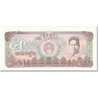 Billet, Cambodge, 50 Riels, 1992, Undated (1992), KM:35a, SUP - Cambodia