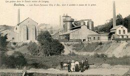 54   SAULNES LES GREVES DANS LE BASSIN MINIER DE LONGWY  LES HAUTS FOURNEAUX RATY - Longwy