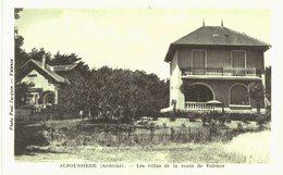 Alboussière Villas De La Route De Valence - France