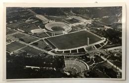 AK GERMANY OLIMPIC GAMES CANCELATION BERLIN OLYMPIA STADIUM FLUGPOST AIRPOST 1936. - [5] Berlino