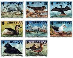 Ref. 41180 * MNH * - JERSEY. 1999. MARINE BIRDS AND WADERS . AVES MARINAS Y ZANCUDAS - Jersey
