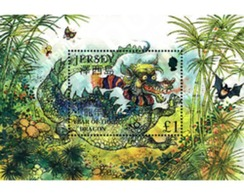 Ref. 94918 * MNH * - JERSEY. 2000. NEW CHINESE YEAR OF THE DRAGON . NUEVO AÑO CHINO DEL DRAGON - Astrologia